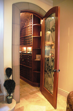 Vista Wine Cellars Showcase Custom Built